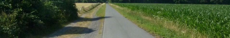 Mit dem Fahrrad durch Deutschland